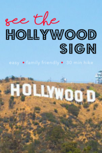 SEE THE HOLLYWOOD SIGN| Griffith Observatory Hike | Family Friendly Hike | tiffanieanne.com