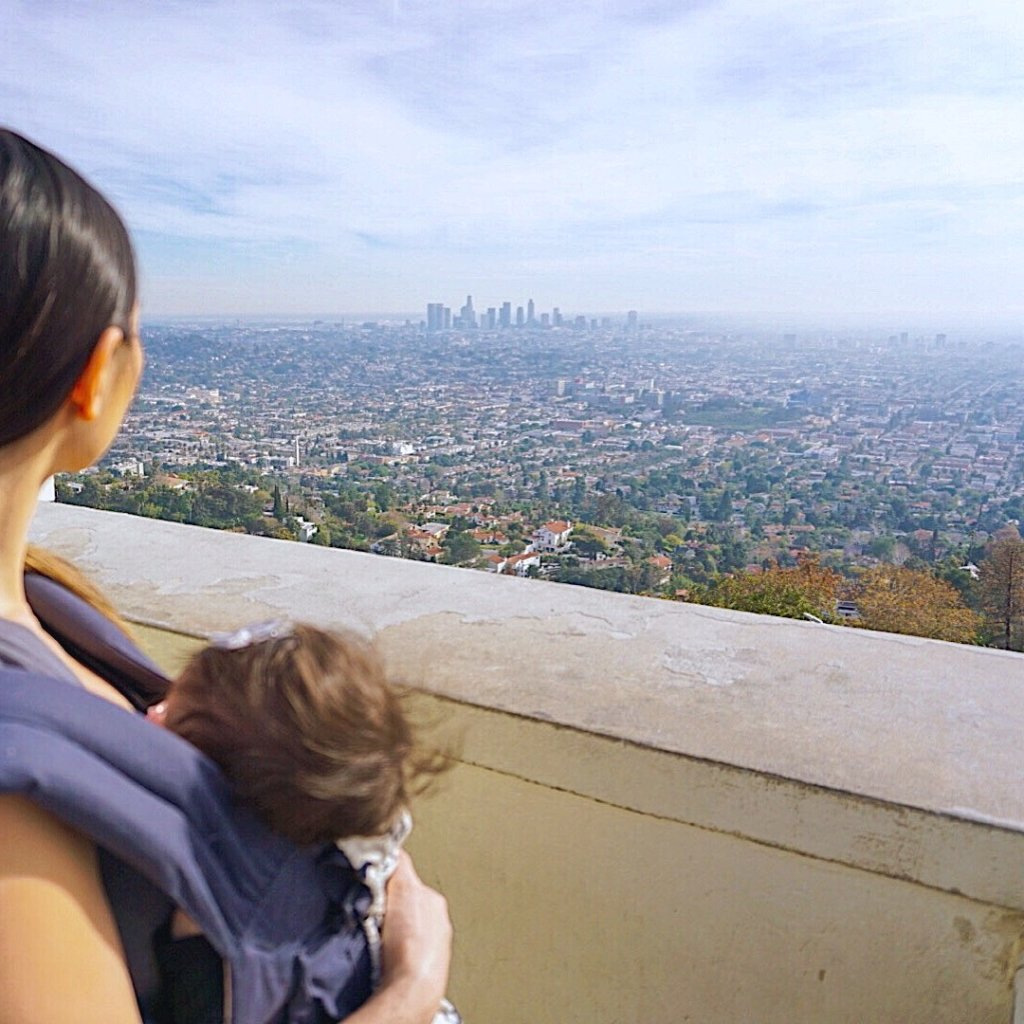 Easy Family Friendly Hike to Griffith Observatory in Hollywood, California!