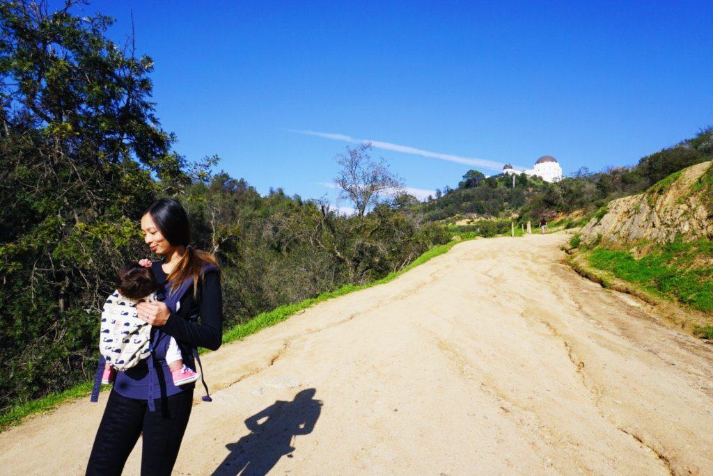 Griffith Observatory HOLLYWOOD HIKE | Family Friendly Hike | tiffanieanne.com