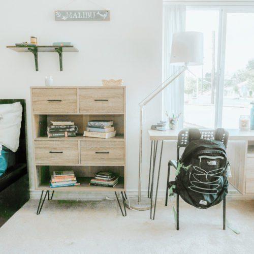 College Room Makeover - Easy, Stylish, + Functional - Tiffanie Anne Blog