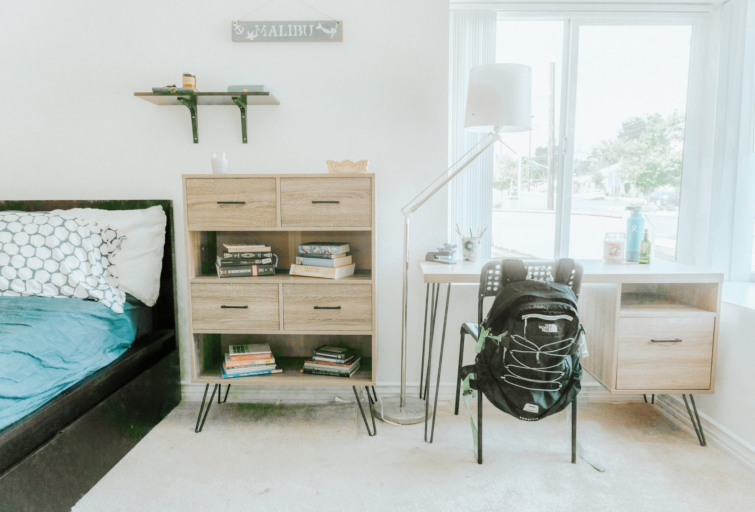 College Room Makeover - Easy, Stylish, + Functional - Tiffanie Anne Blog