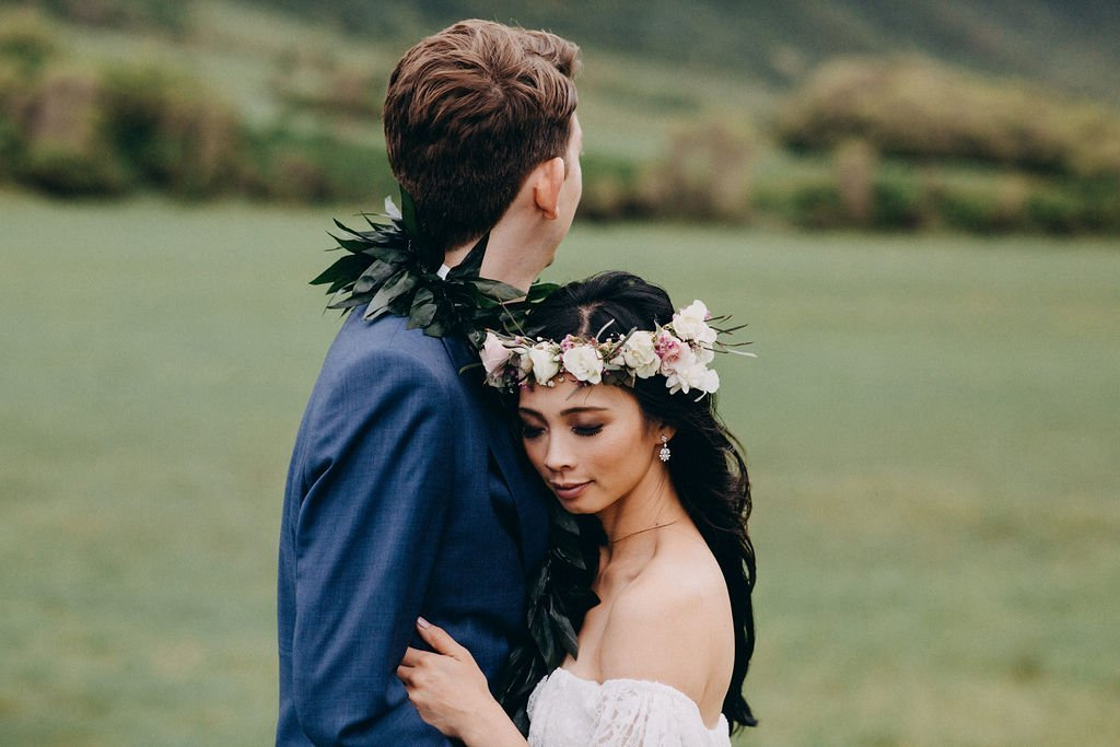 KUALOA RANCH MOLII GARDENS WEDDING - TIFFANIE + BRETT | TIFFANIEANNE.COM