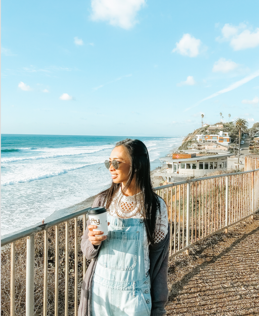 THINGS TO DO IN SAN DIEGO | Moonlight Beach | tiffanieanne.com