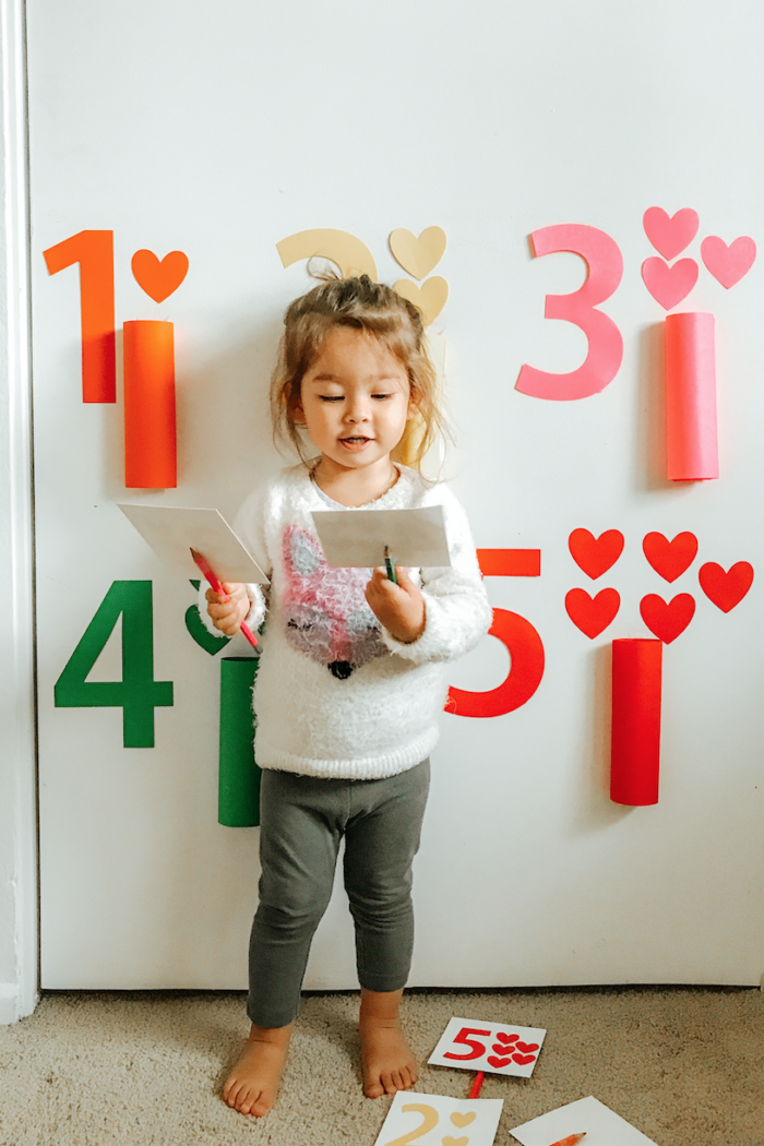 Toddler Learning Numbers Game!  Teaching Kids Numbers