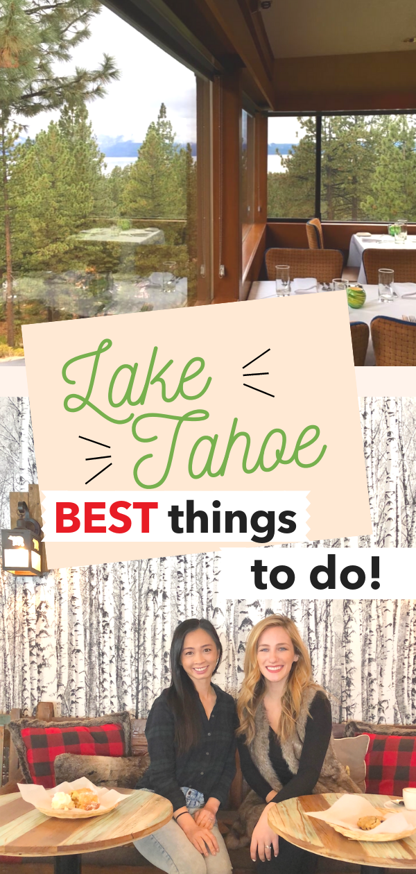 Best Things to do in South Lake Tahoe! | tiffanieanne.com