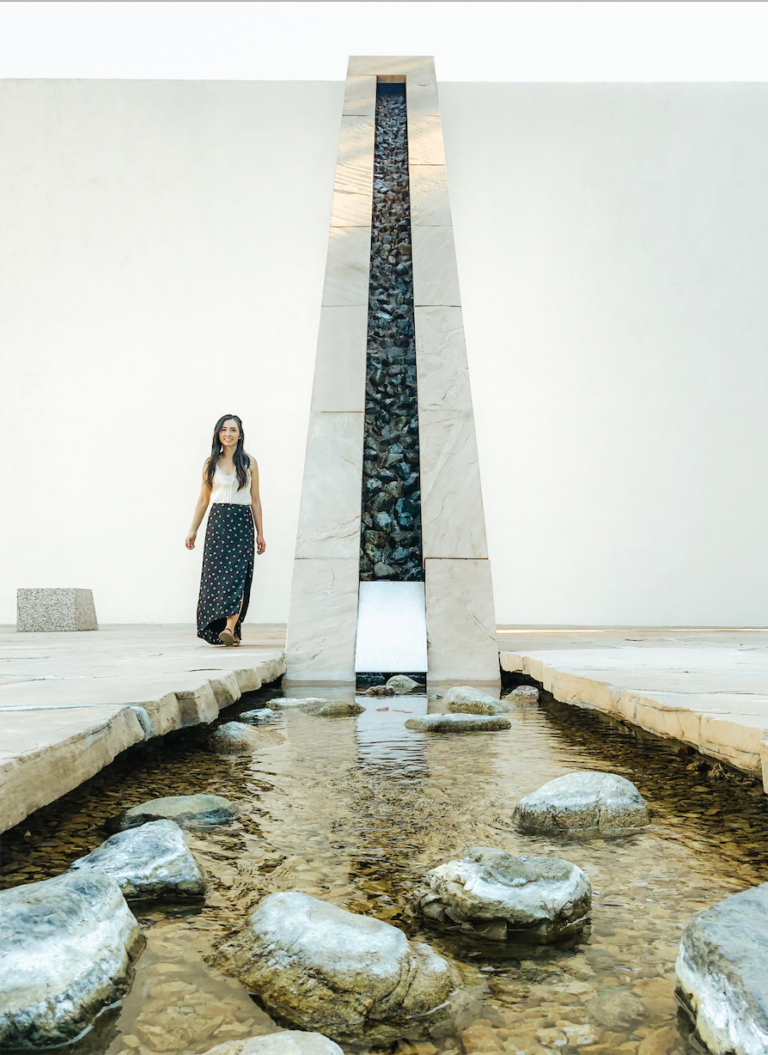 Noguchi Garden | Costa Mesa | Travel Orange County | tiffanieanne.com