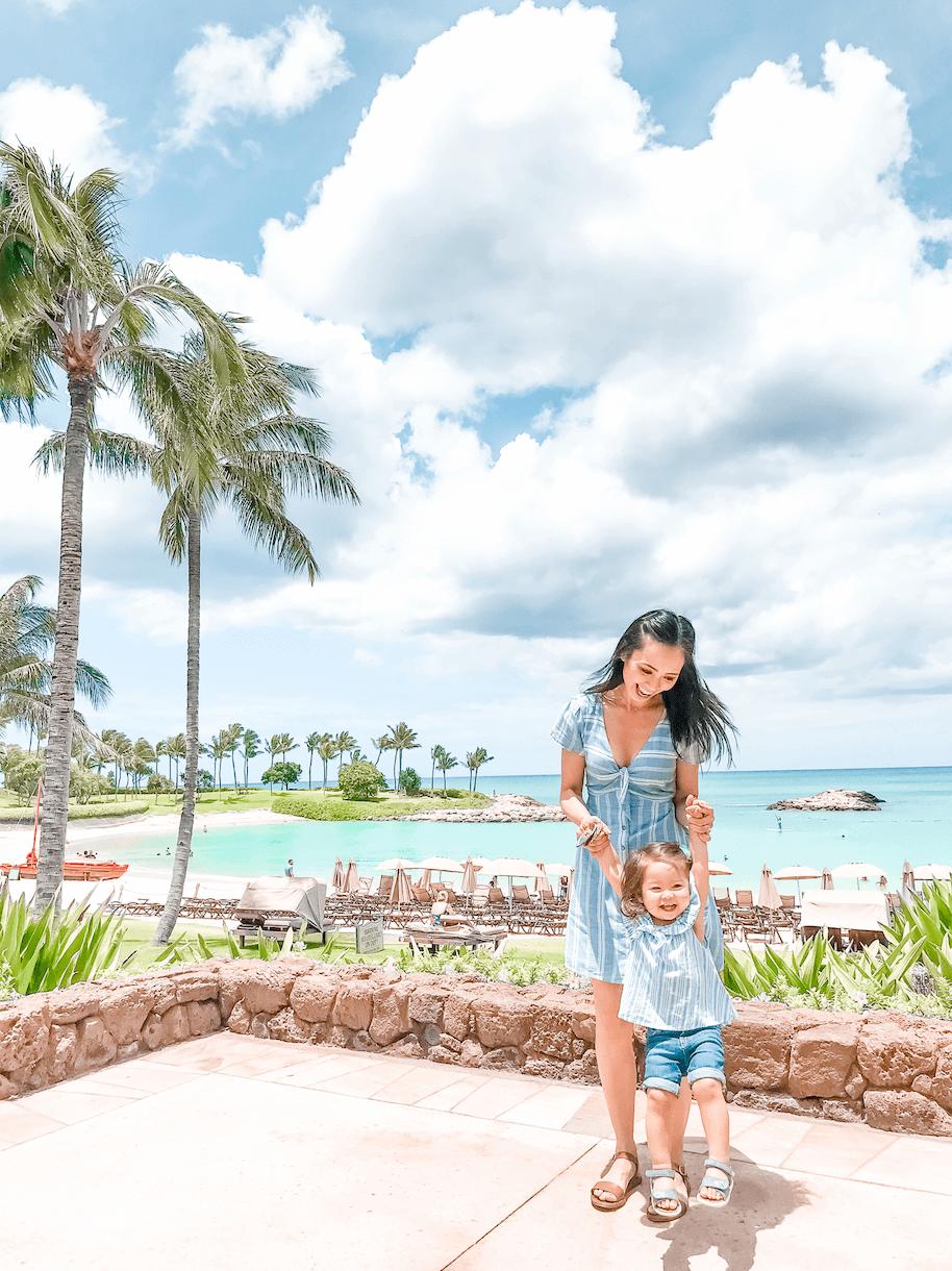 Aulani - Best Things to do in Hawaii Oahu Waikiki - Kid Toddler Friendly - tiffanieanne.com