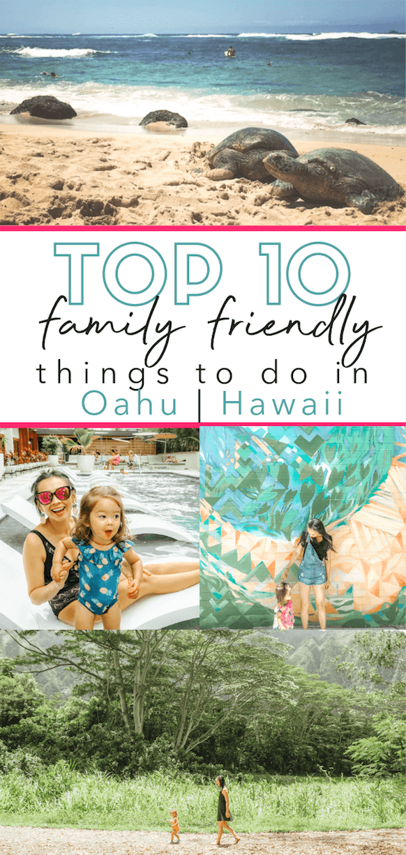 Best Things to do with Kids and Toddlers in Oahu Hawaii | Waikiki | tiffanieanne.com |