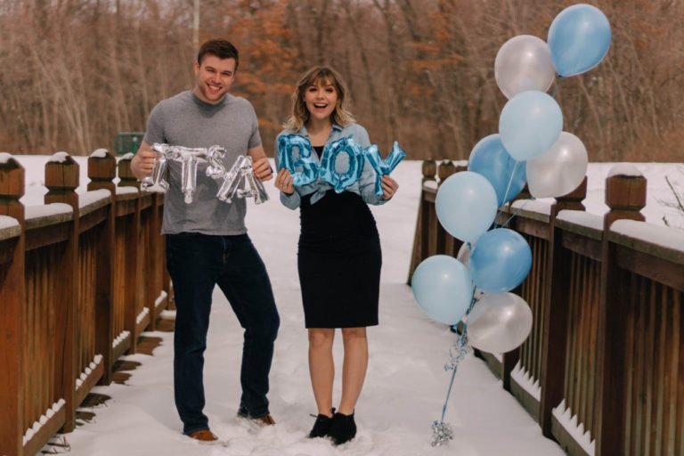 Boy Balloon | Twinkle | Best Gender Reveal | Must See Gender Reveal Ideas! | tiffanieanne.com