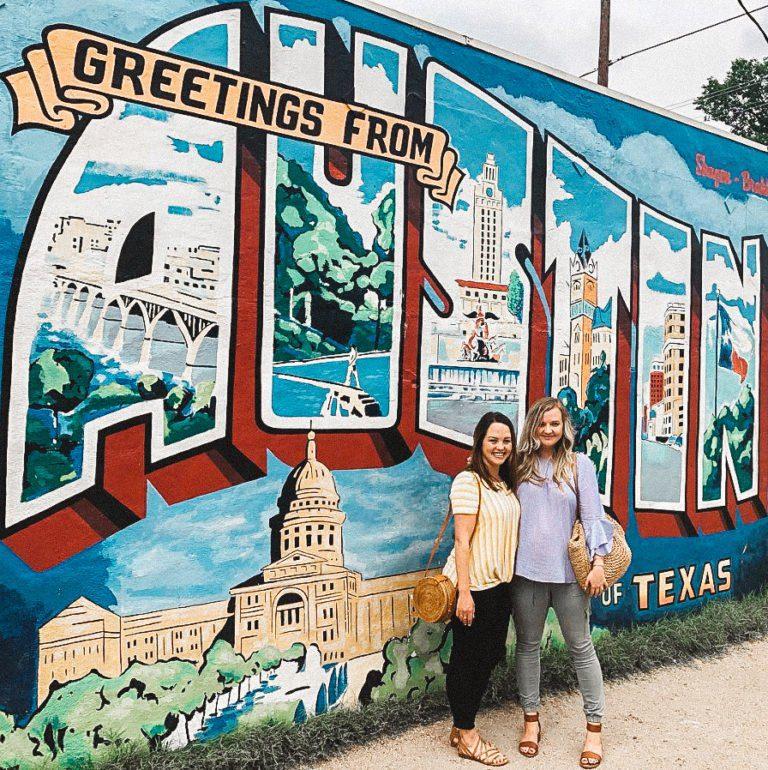 Greetings From Austin Capitol | Wall Mural Art | Austin Texas | tiffanieanne.com