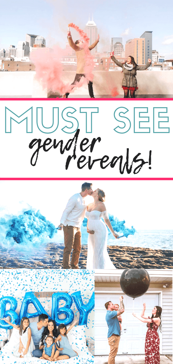 Must See Gender Reveal Ideas! | Best Gender Reveal | Baby Announcement | tiffanieanne.com