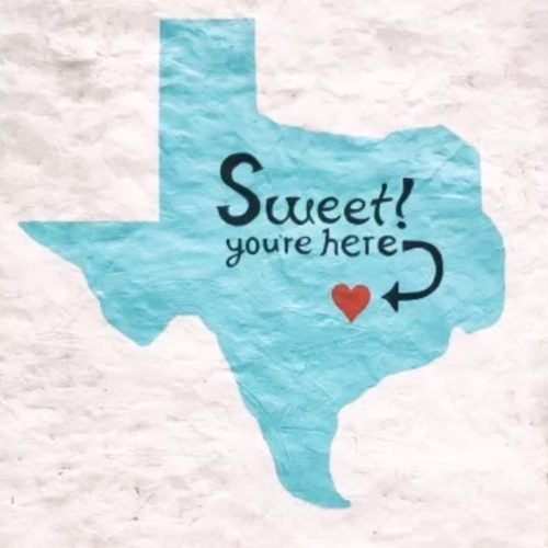 Sweet You Are Here Kellie's Baking | Wall Mural Art | Austin Texas | tiffanieanne.com