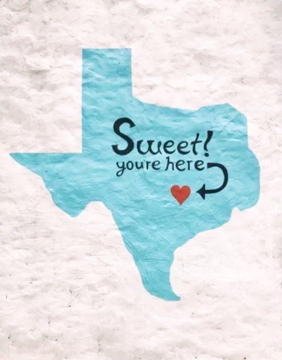 Sweet You Are Here Kellie's Baking | Wall Mural Art | Austin Texas | tiffanieanne.com