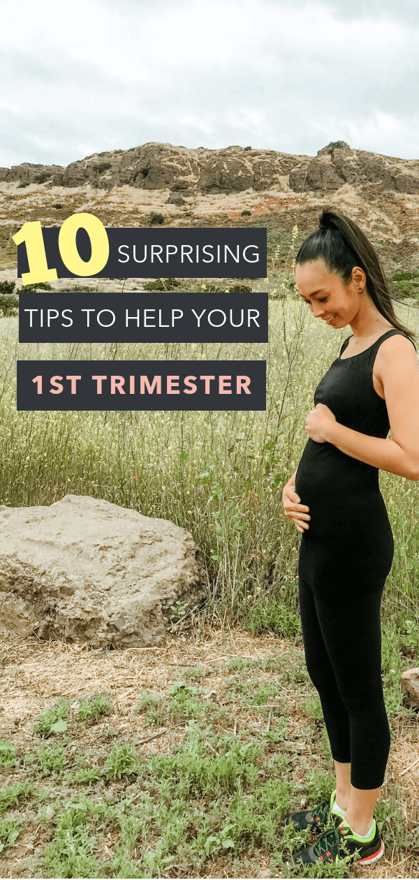 First Trimester Tips and Must Haves | Survival Kit for the 1st Trimester Symptoms | tiffanieanne.com