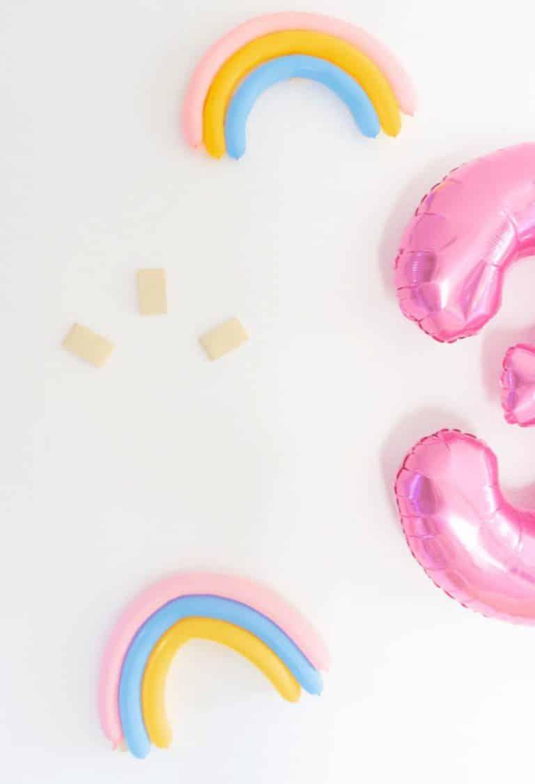 Rainbow Sprinkle Wall - Donut Ice Cream Colorful Unicorn Birthday Party Background - tiffanieanne.com3