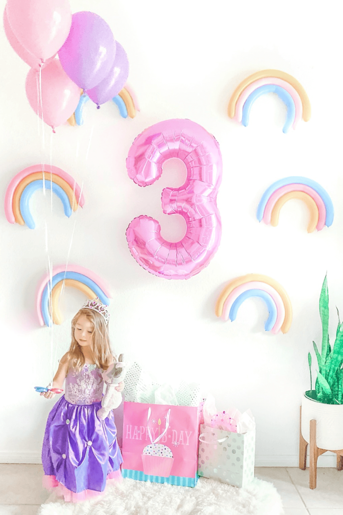 DIY Rainbow Wall | Colorful Party Backdrop!