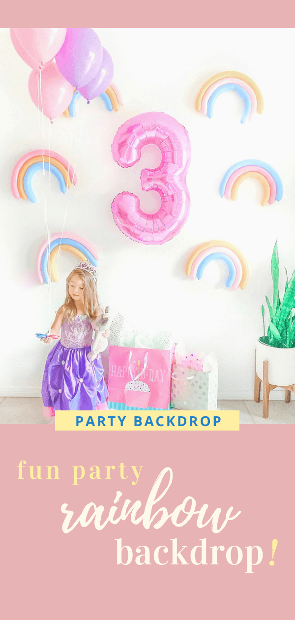 Rainbow Sprinkle Wall - Donut Ice Cream Colorful Unicorn Birthday Party Background - tiffanieanne.com