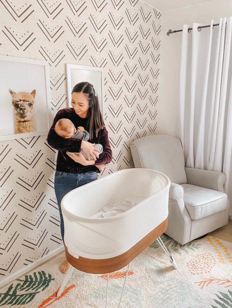 Snoo Bassinet Review | Safest Smartest Baby Bed | Dr. Harvey Karp | Happiest Baby | tiffanieanne.com