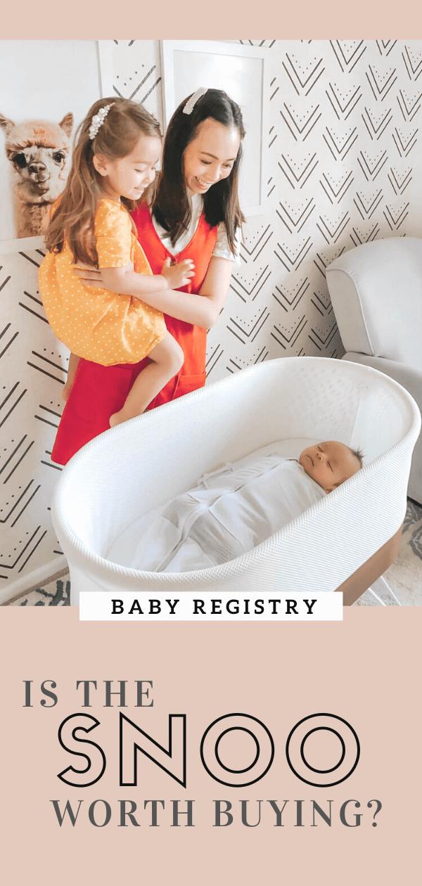 Snoo Bassinet Review | Safest Smartest Baby Bed | Dr. Harvey Karp | Happiest Baby | Baby Registry Must Haves | Bassinet or Crib |tiffanieanne.com