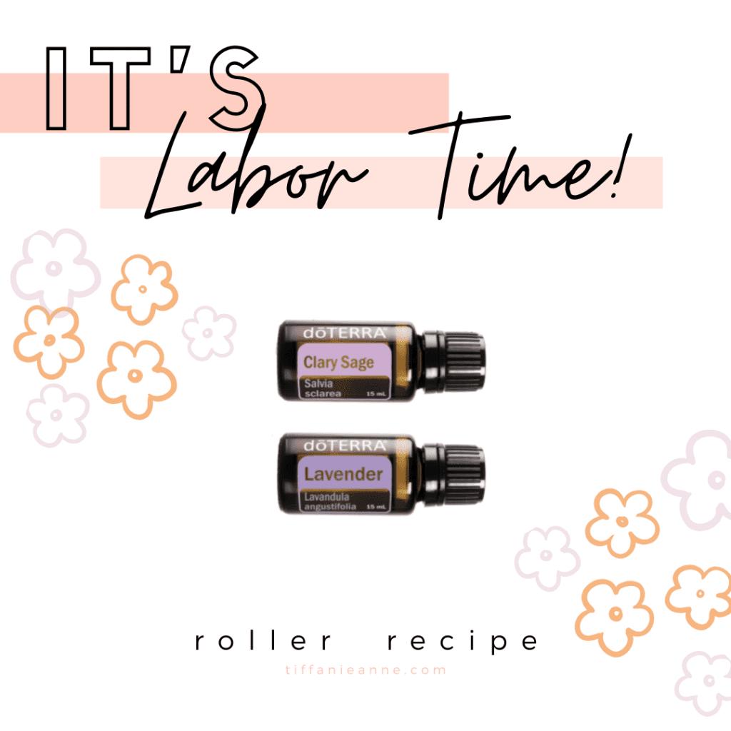 VBAC Birth Story - Must Have Essential Oils for Labor - Hospital Bag - Roller Recipe 2