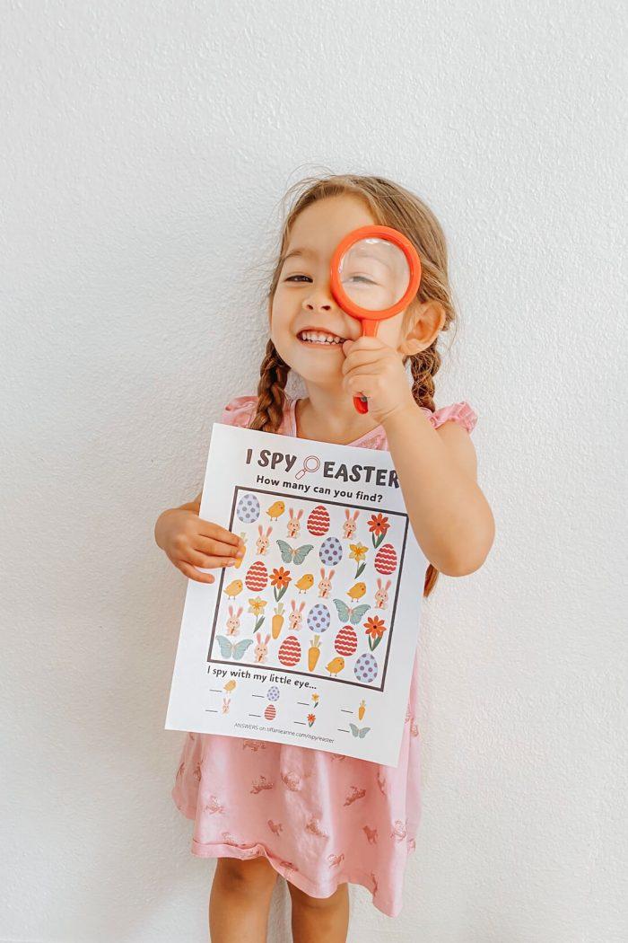 I Spy: Easter!•FREE PRINTABLE•