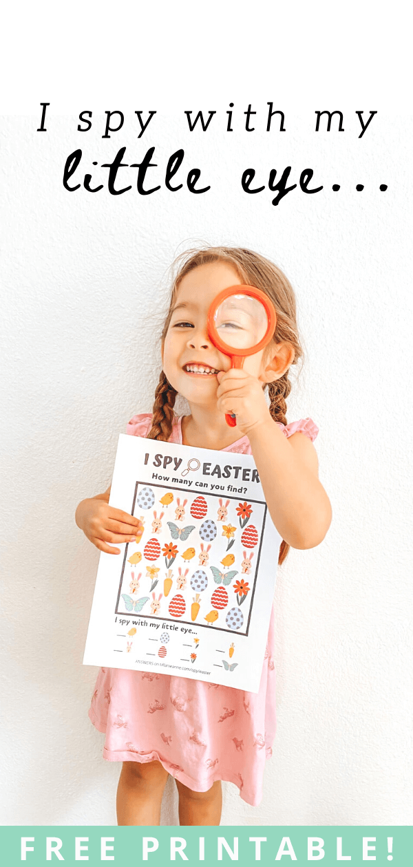 I Spy Easter Game-Free Printable-Toddler Activities-Activity-for-Kids-Easter-Crafts-Detective-Magnifying-Glass-tiffanieanne.com