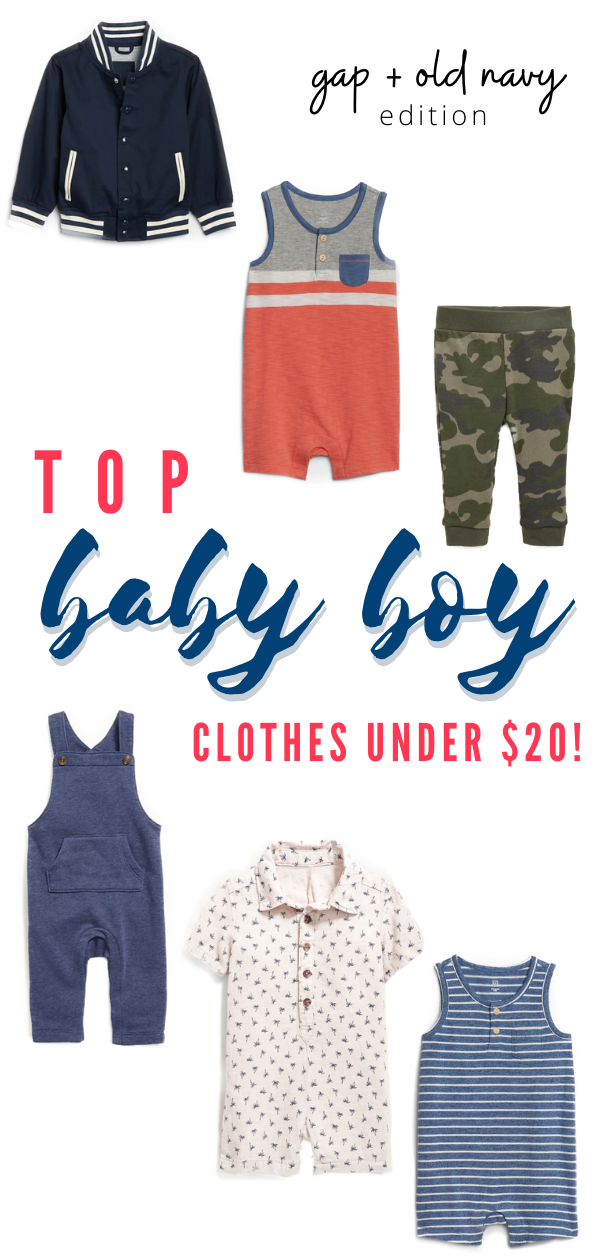 Best Places to Buy Baby and Toddler Boy Clothes | Gap Old Navy | TiffanieAnne.com