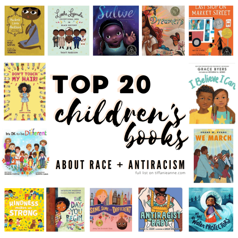 TOP 20 Books on Race, Racism, and Kindness _ Teaching Children and Families _ In School Curriculum and at home_ tiffanieanne.com 3