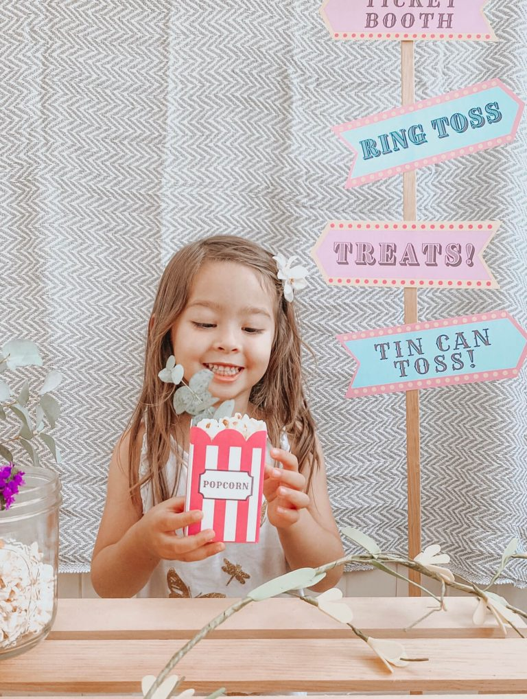 Carnival Circus Theme Party | FREE PRINTABLES | birthday party | tiffanieanne.com 1