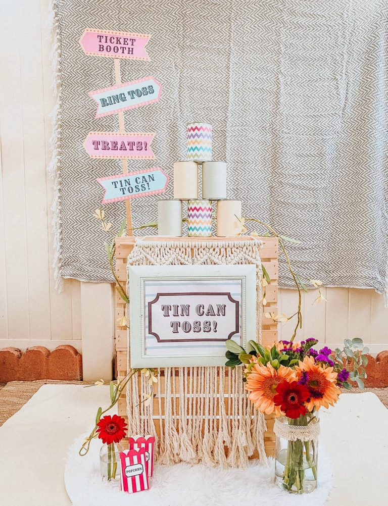 Carnival Circus Theme Party | FREE PRINTABLES | birthday party | tiffanieanne.com 10