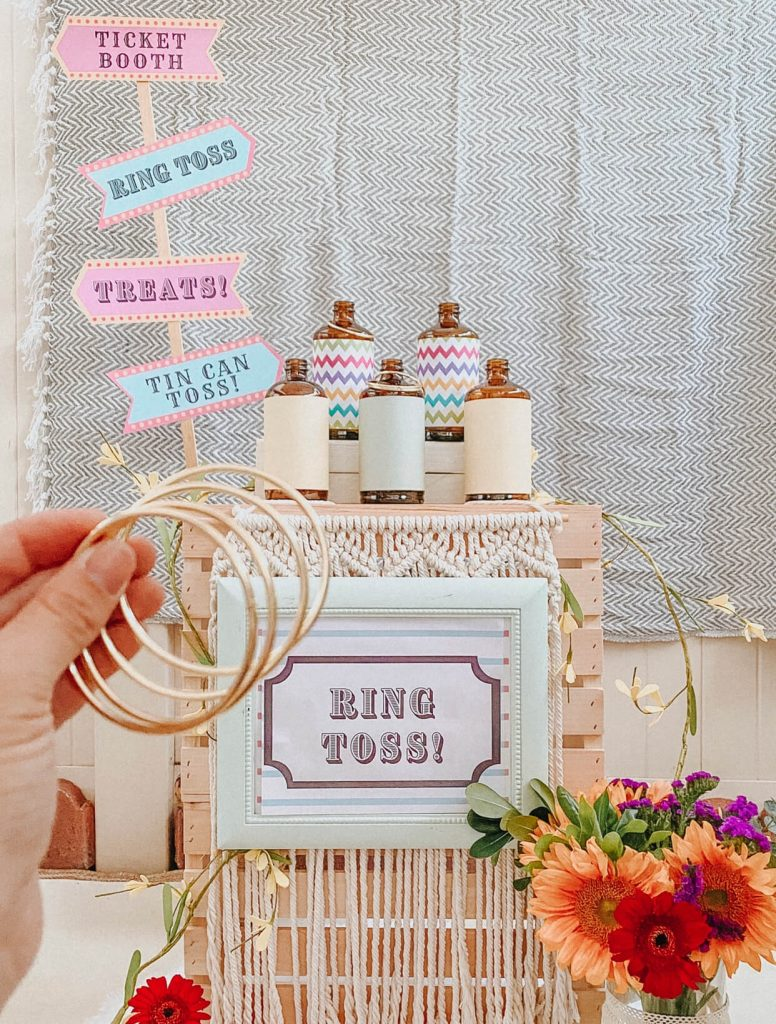 Carnival Circus Theme Party | FREE PRINTABLES | birthday party | tiffanieanne.com 11