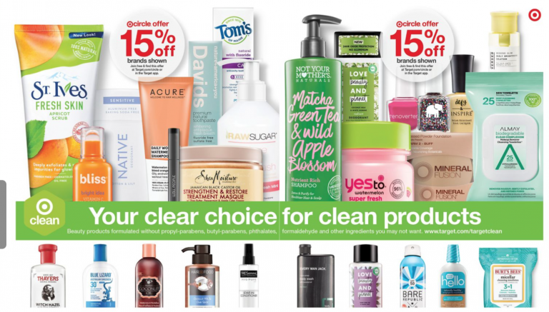 Target Greenwash AD Clean Beauty Toxic Free Drugstore Products | tiffanieanne.com