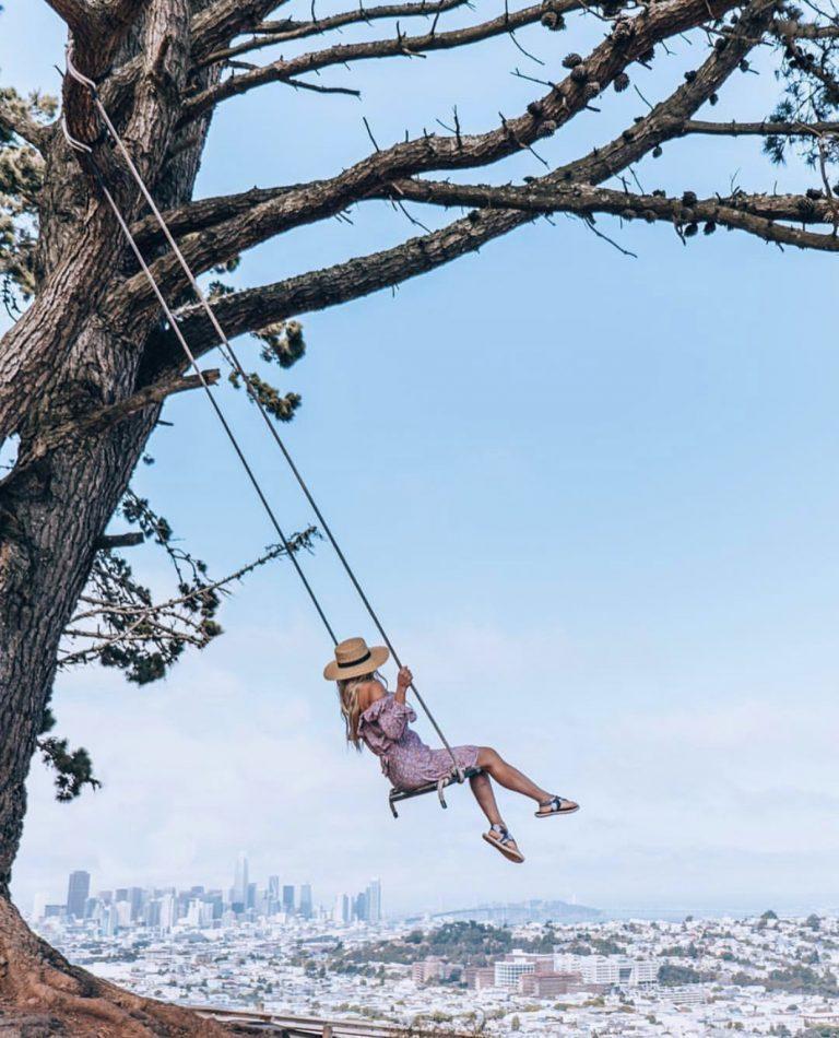 Bernal Heights Park | Best Views in San Francisco | SF Instagram Worthy Photo Spots | SF Photography | tiffanieanne.com