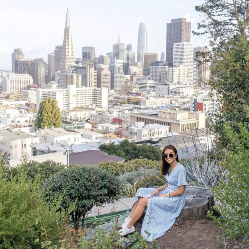 Ina Coolbrith Park | Best Views in San Francisco | SF Instagram Worthy Photo Spots | SF Photography | tiffanieanne.com