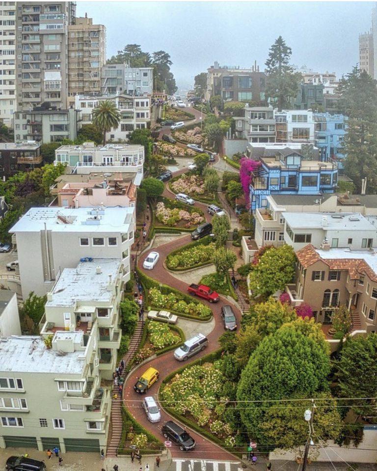 Lombard Street | Best Views in San Francisco | SF Instagram Worthy Photo Spots | SF Photography | tiffanieanne.com