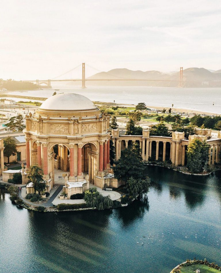 Palace of Fine Arts | Best Views in San Francisco | SF Instagram Worthy Photo Spots | SF Photography | tiffanieanne.com