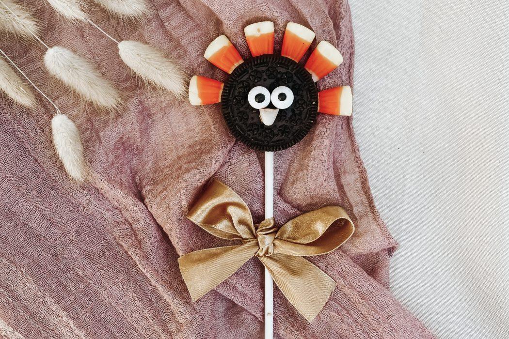 Yummy! No Bake Turkey DIY<br>•Thanksgiving Crafts for Kids•