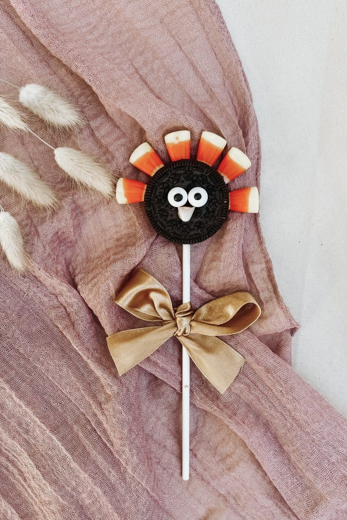 Yummy! No Bake Turkey DIY•Thanksgiving Crafts for Kids•