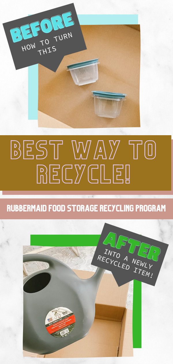 Eco-conscious-Ecofriendly-TerraCycle-Rubbermaid-Easy-Recycle- Recycled-Made-Products-Plastic-Free-Glass-Container pin