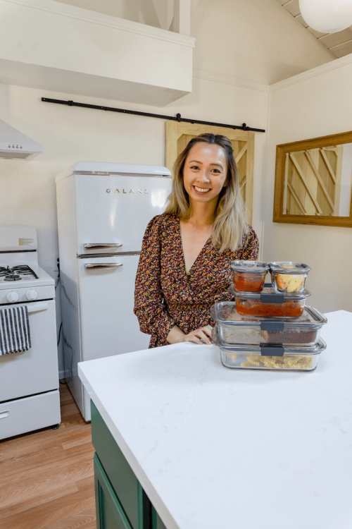 How to Organize Your Fridge to Lessen Food Waste<br> with Rubbermaid!